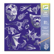 Iron Scratch Art Stickers