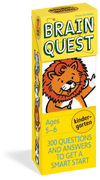 Brain Quest Cards Kindergarten (5-6)