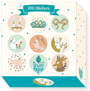 100 Stickers Lucille