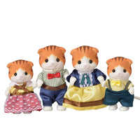Calico Critters Maple Cat Family