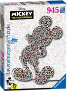 Mickey Shaped 945 Pc Puzzle