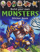 Build Your Own Monster Sticker Book