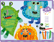 Happy Monster Collage
