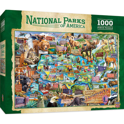National Parks of America 1000pc Puzzle