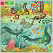 Otters 1000 Piece Puzzle