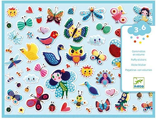 Little Wings Puffy Stickers