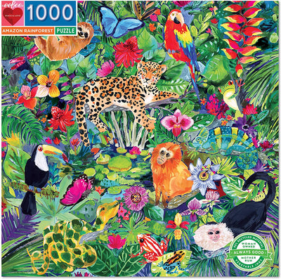 Rainforest 1000 Pc Puzzle