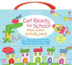 Get Ready For School Wipe Clean Pack