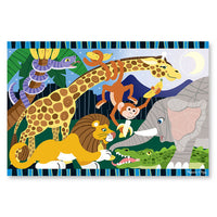 Safari Social 24 Piece Floor Puzzle