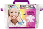 Neon Tie Dye Hair Accessory Design Kit