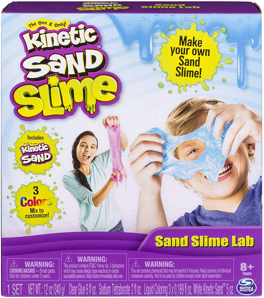 Kinetic Sand Slime Lab