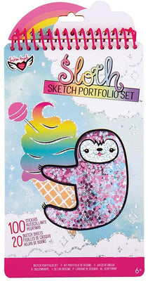 Sloth Compact Sketch Portfolio Set