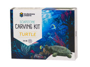 Soapstone Turtle Carving Kit