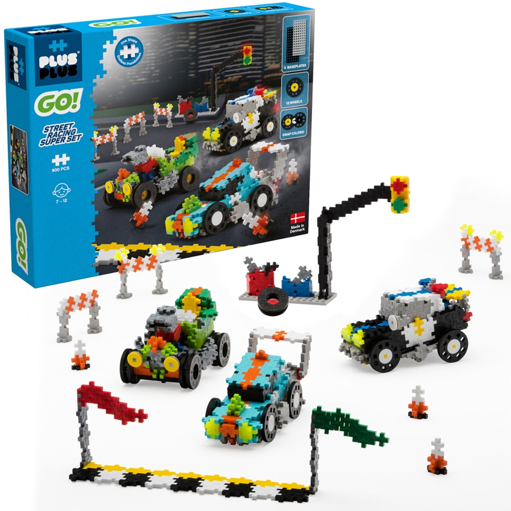 Plus Plus Go! Street Racing Super Set