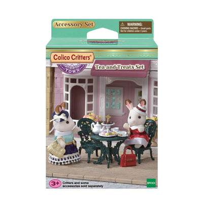 Calico Critters Tea & Treats Set