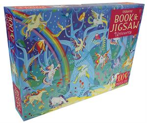 Unicorns Book & Puzzle