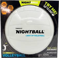 NightBall® Volleyball - Pearl White