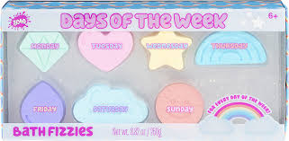 Days of the Week Bath Fizzies