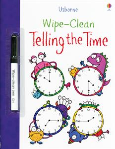 Wipe-Clean Telling Time