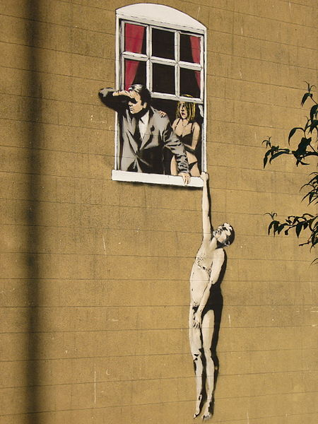 Does it really matter who Banksy is?