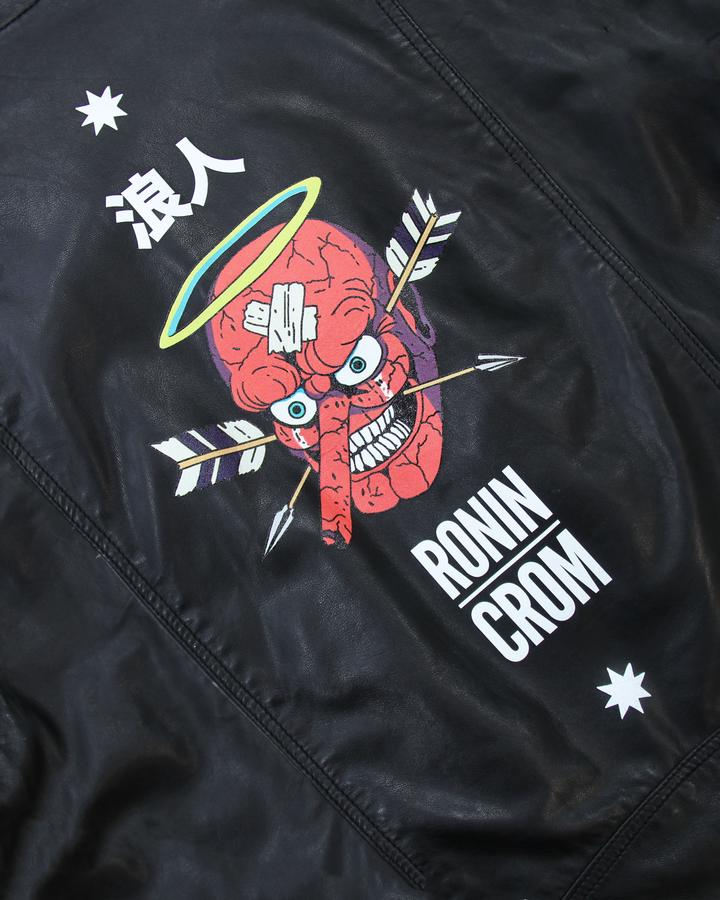 Men's CROM X Shores Leather Biker Limited Print Run