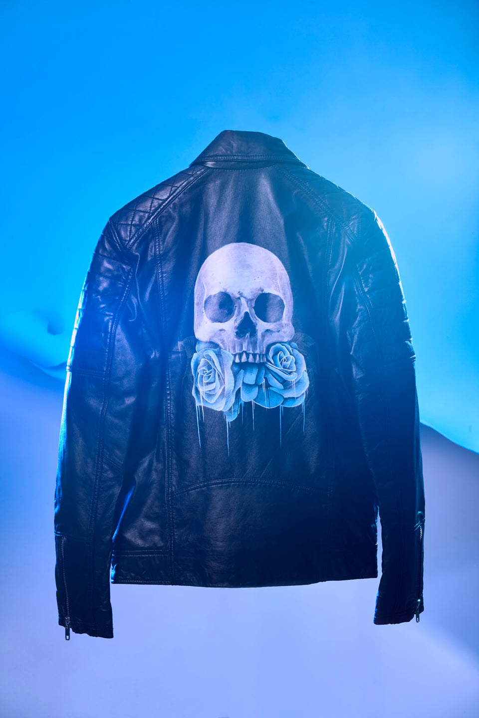Anthony Walker -  Hand-Painted Leather Jacket