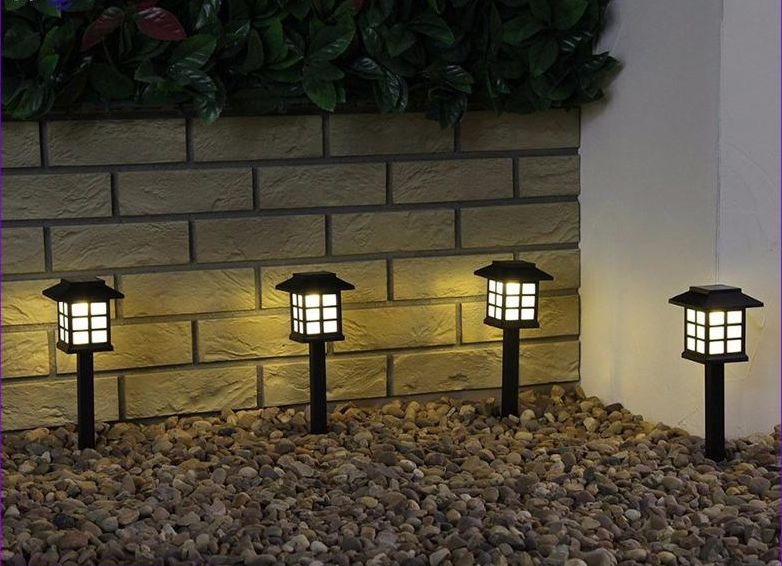 2PCS Solar Retro Lantern Lamps - Garden Decoration
