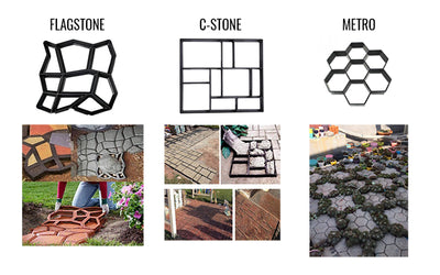Amenitee™ Paving Mould - Easy Path & Patio Building Tool