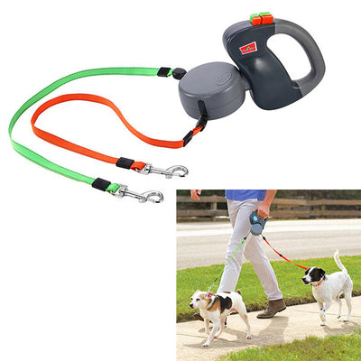 Retractable Leash for 2 dogs