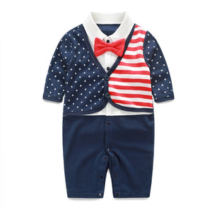 American Flag Romper Baby Clothing Set - Independence Day - 64 Corp