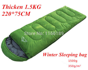 Winter Hooded Sleeping Bag - 64 Corp