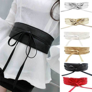 WRAP AROUND WAIST BELT IN LEATHER - 64 Corp