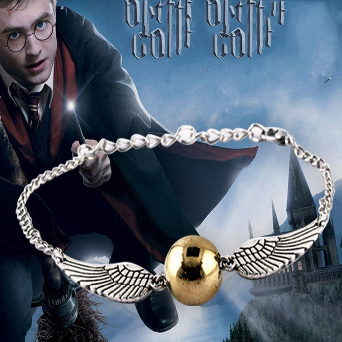 Fashion Trendy Jewelry Chic Free Shipping Movie Harry Bracelet Quidditch Golden Snitch Pocket Bracelets 2 Colors Drop Shipping - 64 Corp