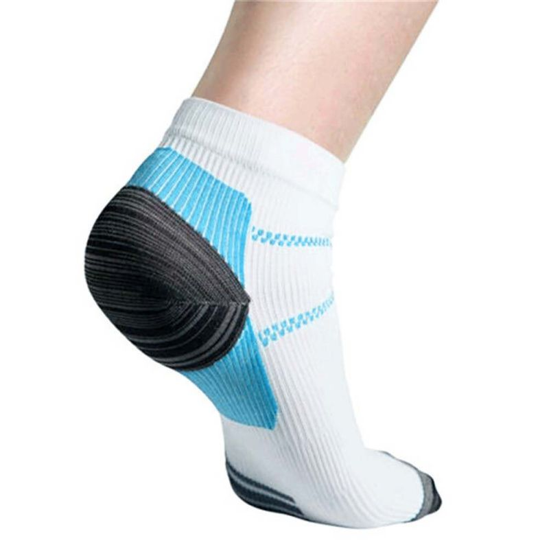 Foot Compression Socks For Plantar Fasciitis Heel Spurs Pain Casual Sock For Men And Women - 64 Corp