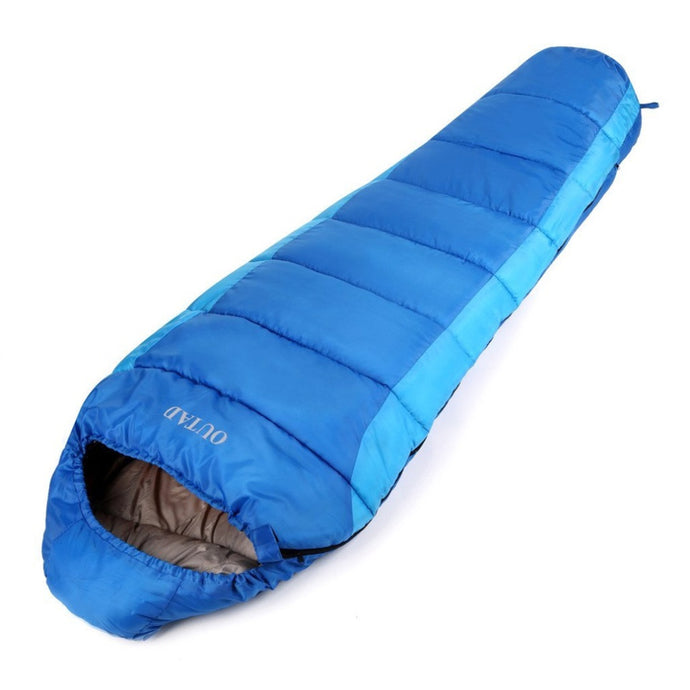 OUTAD Sleep Bag Outdoor Mummy 0-10 Degree Sleeping Bag for Camping/Hiking/Backpacking free shipping - 64 Corp