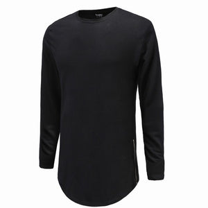Super Longline Long Sleeve T-Shirt - 64 Corp