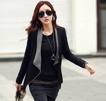 2016 Autumn New Women Long Sleeve Casual Jacket Coat Korean Style Slim Winter zipper Outwear Jackets - 64 Corp