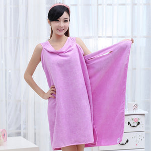 Super Absorbent Microfiber Bath Beach Wearable Body Wrap Spa Towel - 64 Corp
