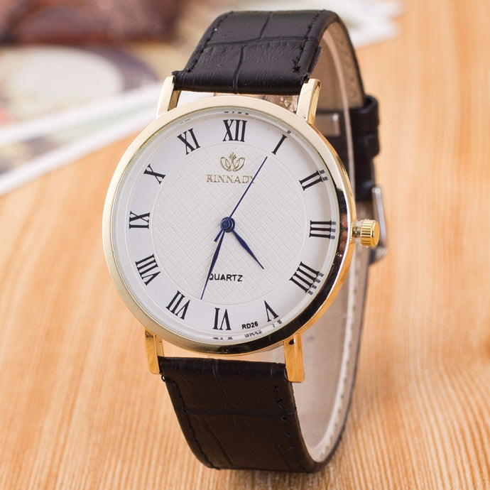 Casual Quartz Men Wristwatch Minimalism Look - 64 Corp