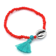 Alloy Sea Shell Tassel Natural Stone Bead Boho Bracelet For Women Men Jewelry Fashion Accessory pulseras mujer - 64 Corp
