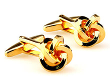 Fashion Knot Design Copper Cufflinks - 64 Corp