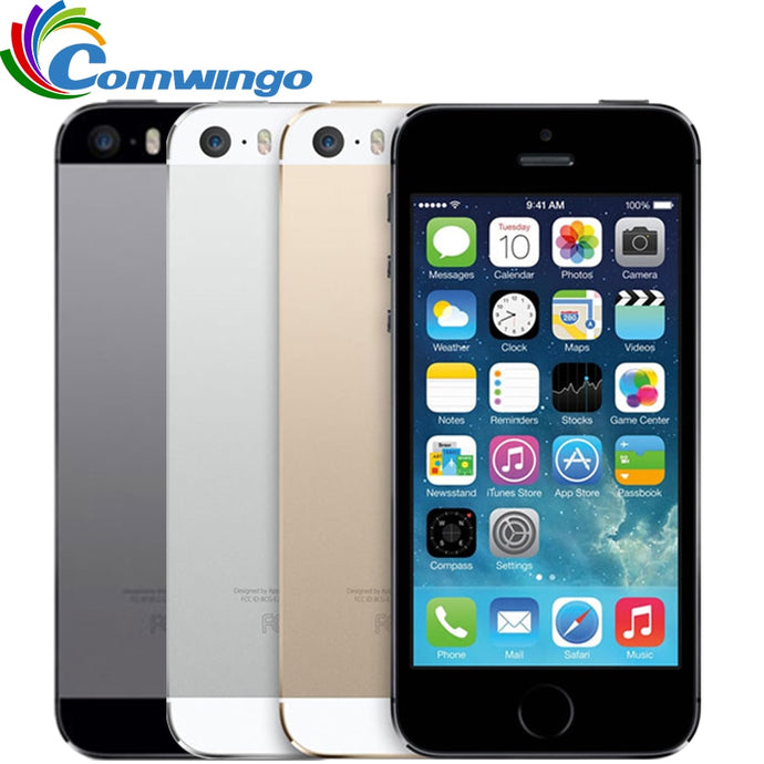 Original Unlocked Apple iphone 5S 16GB / 32GB ROM IOS iphone 5s White Black Gold GPS GPRS A7 IPS LTE Cell phone iPhone5s