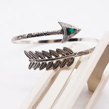 2017 Boho Upper Arm Bracelet Vintage Open Bangle Armlet Indian Antique Bohemian Punk Arrow Cuff Bangles for Women - 64 Corp