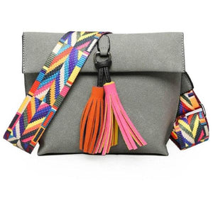 Tassel Crossbody Bags For Girls - 64 Corp