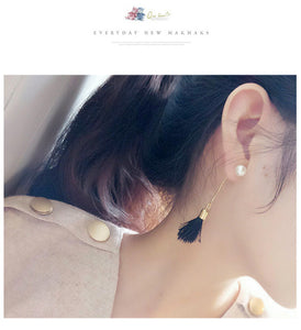 2017 Fashion Vintage Earrings For Women Jewelry Bright Brick Earrings Flower Ancient Long Tassel Drop Earrings Dangle Brincos - 64 Corp