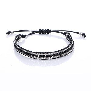 2017 New Trendy Handmade Brand Bracelet Beads Braided Strand Woven Charm Ethnic Boho Bracelets & Bangles for Men Women Jewelry - 64 Corp