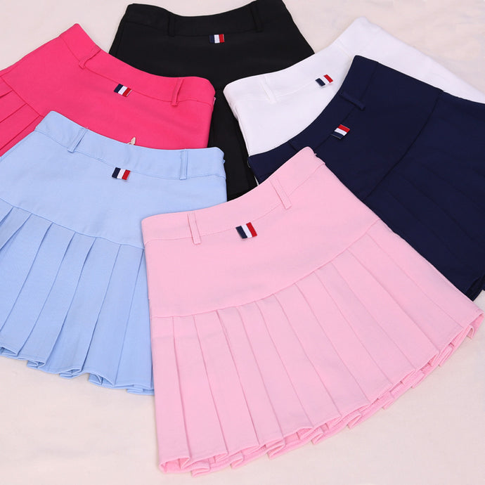 2017 high waist pleated skirts Kawaii Harajuku Skirts women girls lolita a-line sailor skirt Large Size Preppy school uniform - 64 Corp