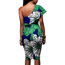 RUFFLED ONE SHOULDER MINI - 64 Corp