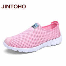 JINTOHO Unisex Summer Breathable Mesh Men Shoes Lightweight Men Flats Fashion Casual Male Shoes Brand Designer Men Loafers - 64 Corp
