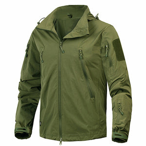 Mege Brand Clothing New Autumn Men's Jacket Coat Military Clothing Tactical Outwear US Army Breathable Nylon Light Windbreaker - 64 Corp